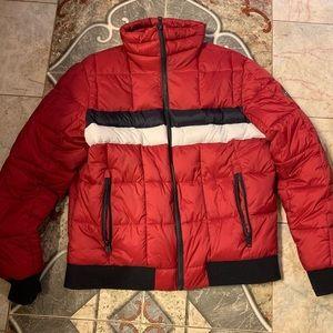 Tommy Hilfiger puffer jacket.